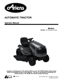 To view the document Ariens A22A46 Specifications
